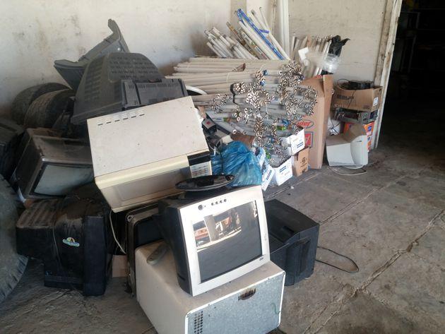 835 KG em resíduos arrecadados