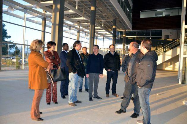 Líderes da CDL Lages conhecem estrutura do Órion Parque