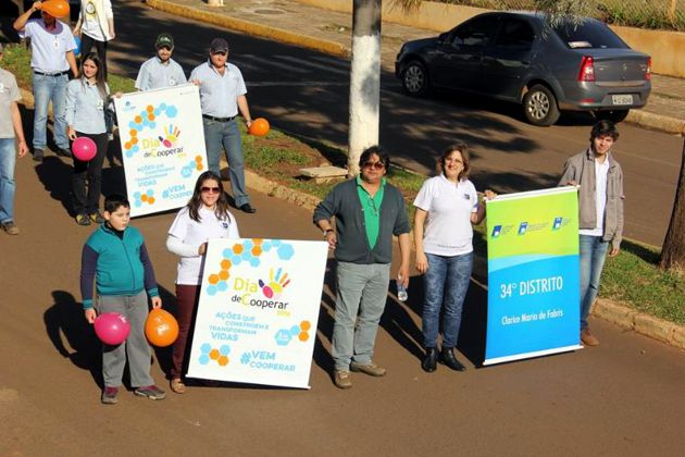 CDL Abelardo Luz no Dia Internacional do Cooperativismo