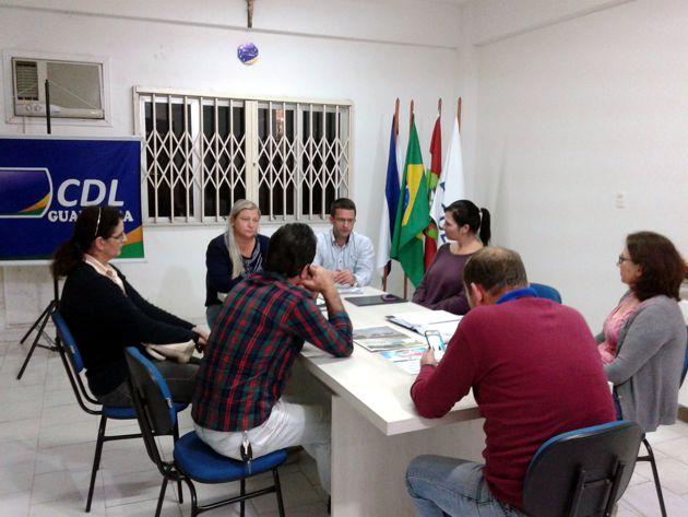 Reunião da CDL Guabiruba