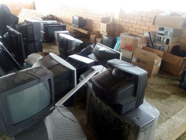 1,1 ton de resíduos arrecadadas no Recicla CDL em Rio do Oeste