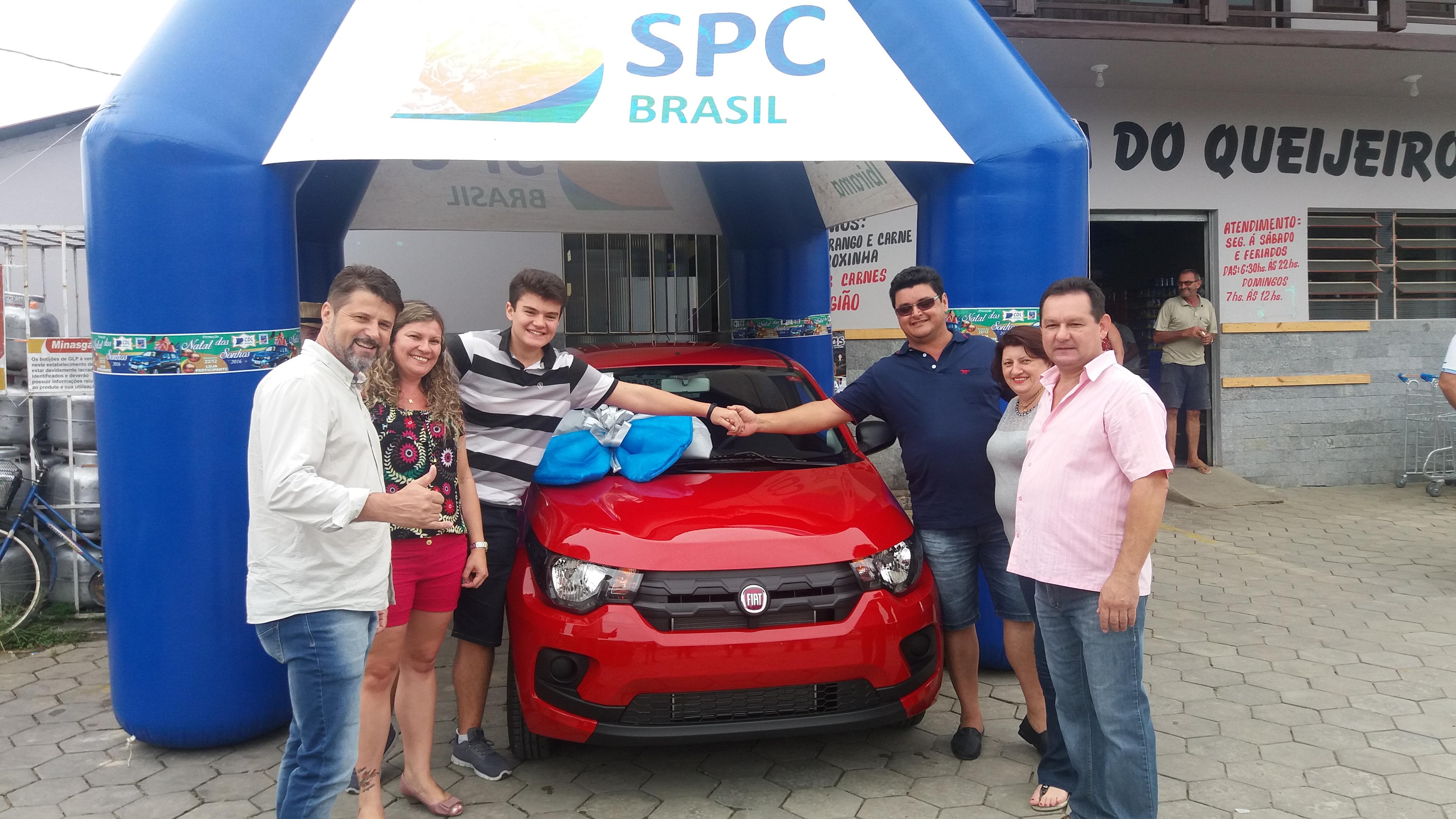 Silvandro José Souza ganhou um Fiat Mobi 0 Km.