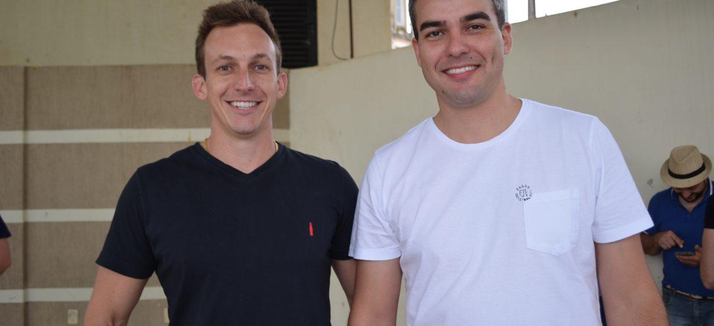 Empresários Rodrigo Savaris e Marcelo Cardoso.