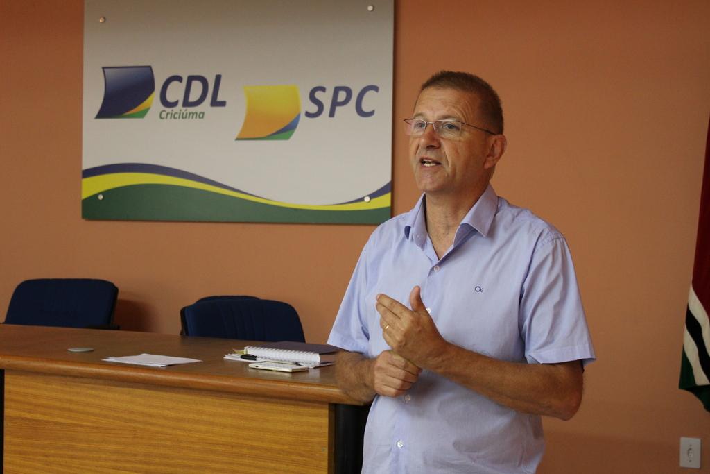 Presidente da CDL, Gelson Philippi, relata as inovações da Megaliquidação