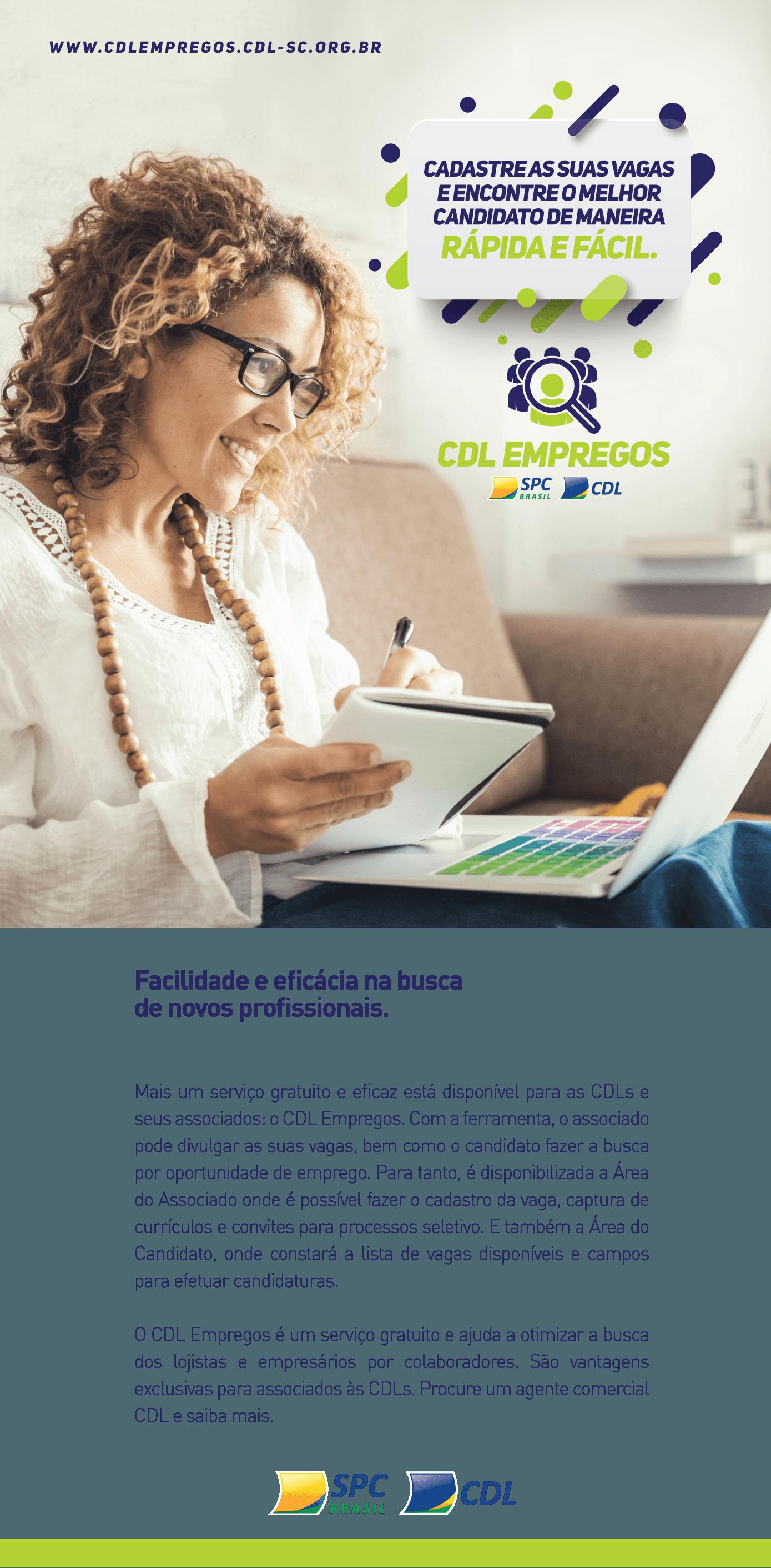 CDL Empregos | FCDL
